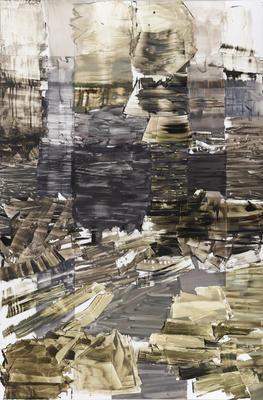 Kira Wager, Viborg 1.19 II, 2018, oil on PVC, 190,5 x 127cm. foto Øystein Thorwaldsen (Foto/Photo)