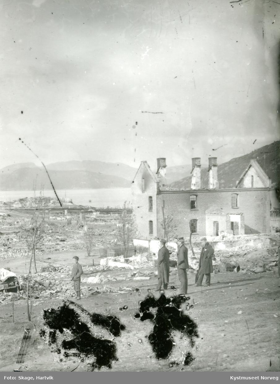 En bombet ukjent by