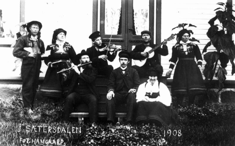 Setesdal, 1908. (Foto/Photo)