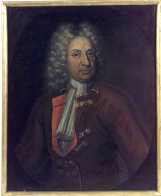 Portrett fra 1681 i utstillingen 1925. (Foto/Photo)