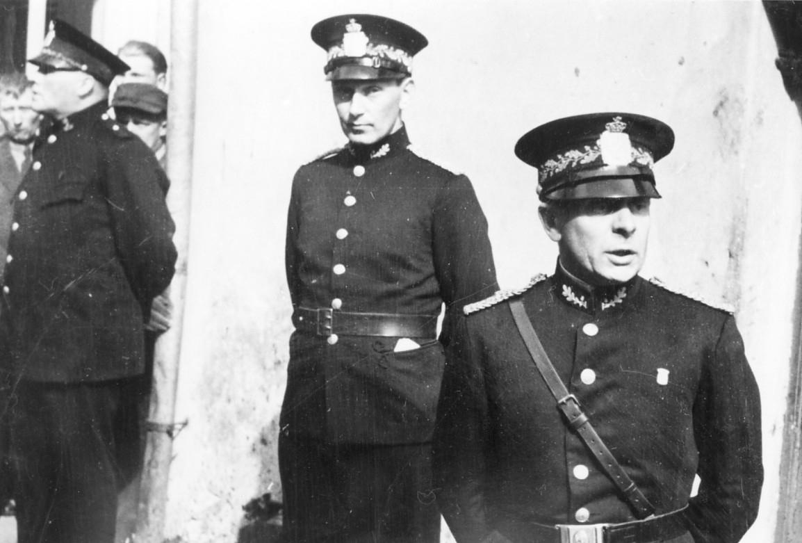 Østerberg utnevnes som politimester i Trondheim 8. mai 1945
