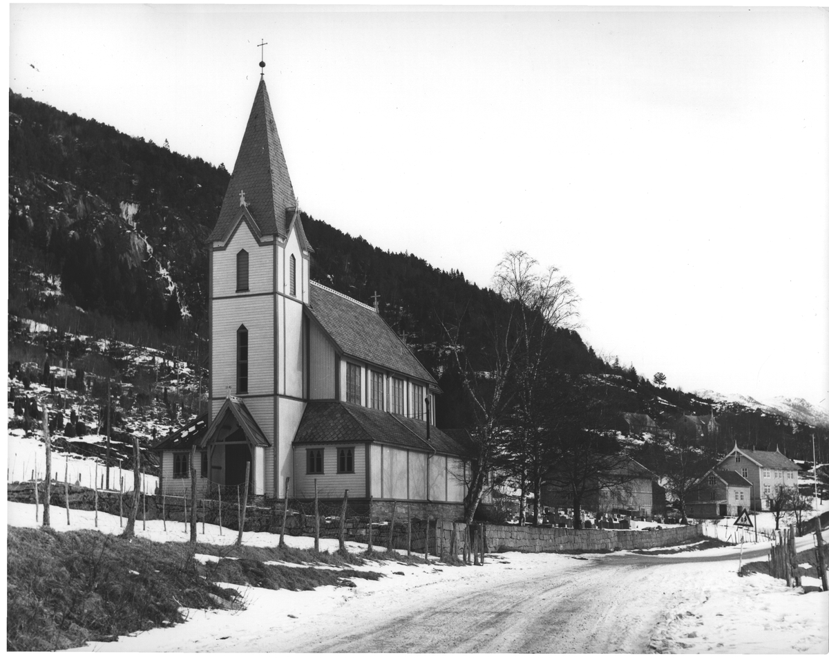 Kyrkjebø. Sogn