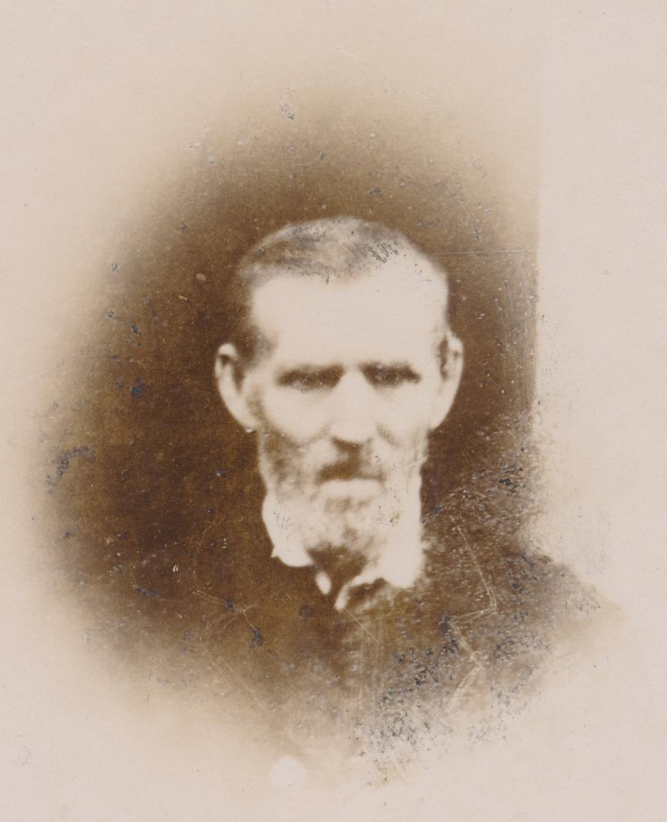 Portrett av eldre mann, ukjent