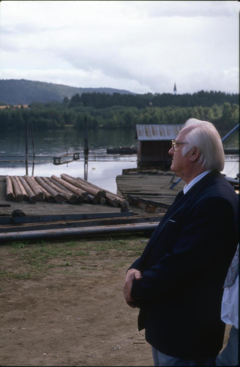 En stolt Harry Kvebæk (1925-2012) på åpningsdagen. Foto: Per Emil Berg (Foto/Photo)