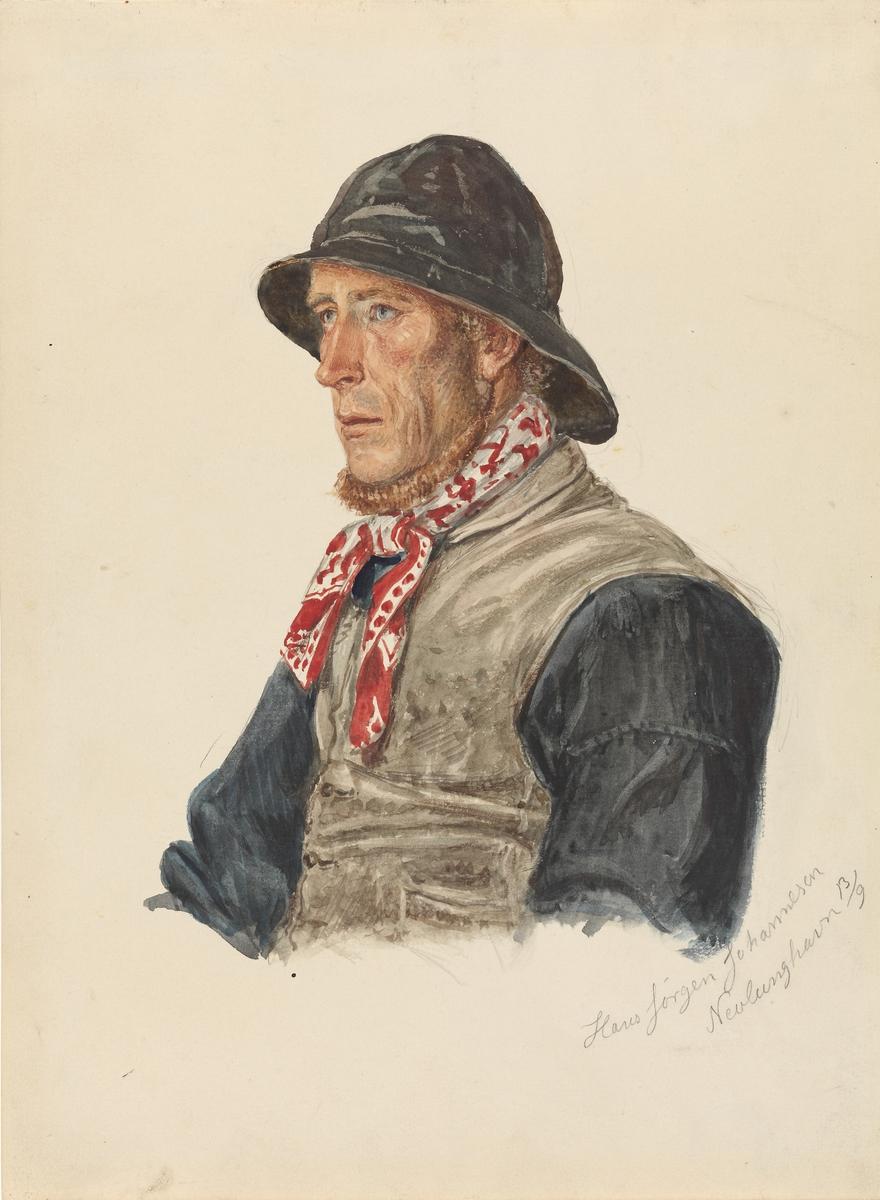 Hans Jørgen Johannesen, Nevlunghavn [Tegning]