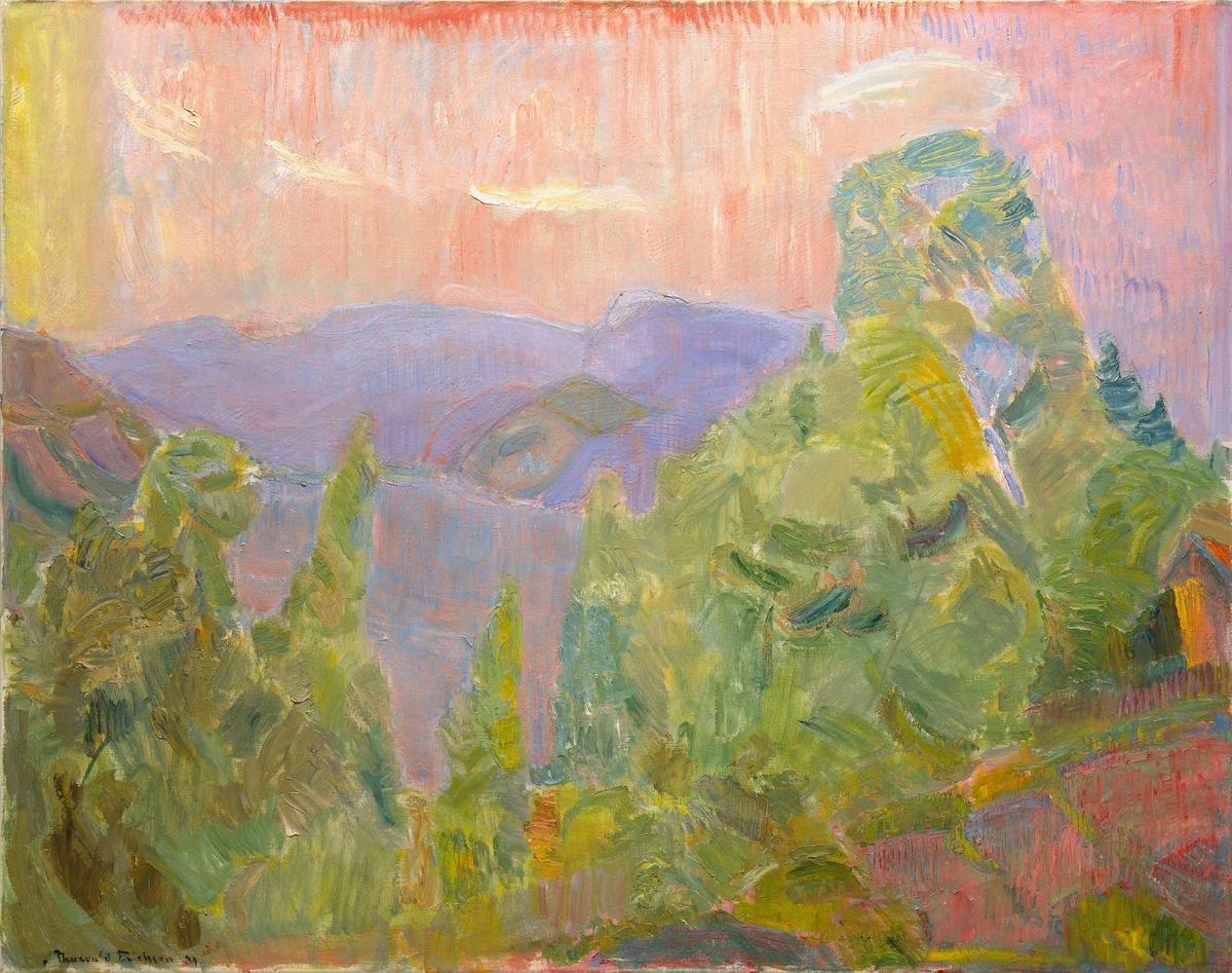 Fra Holmsbu [Maleri]