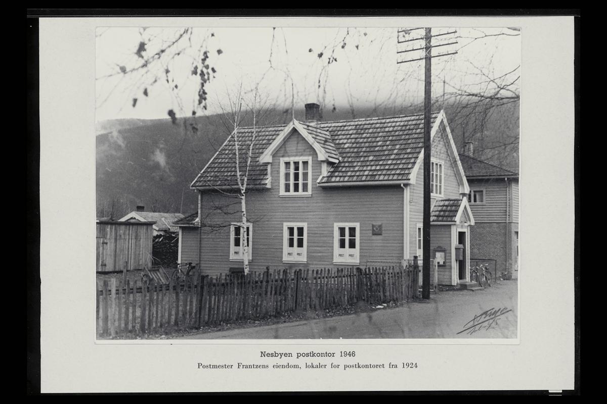 eksteriør, postkontor, 3540 Nesbyen, postkasse, postskilt