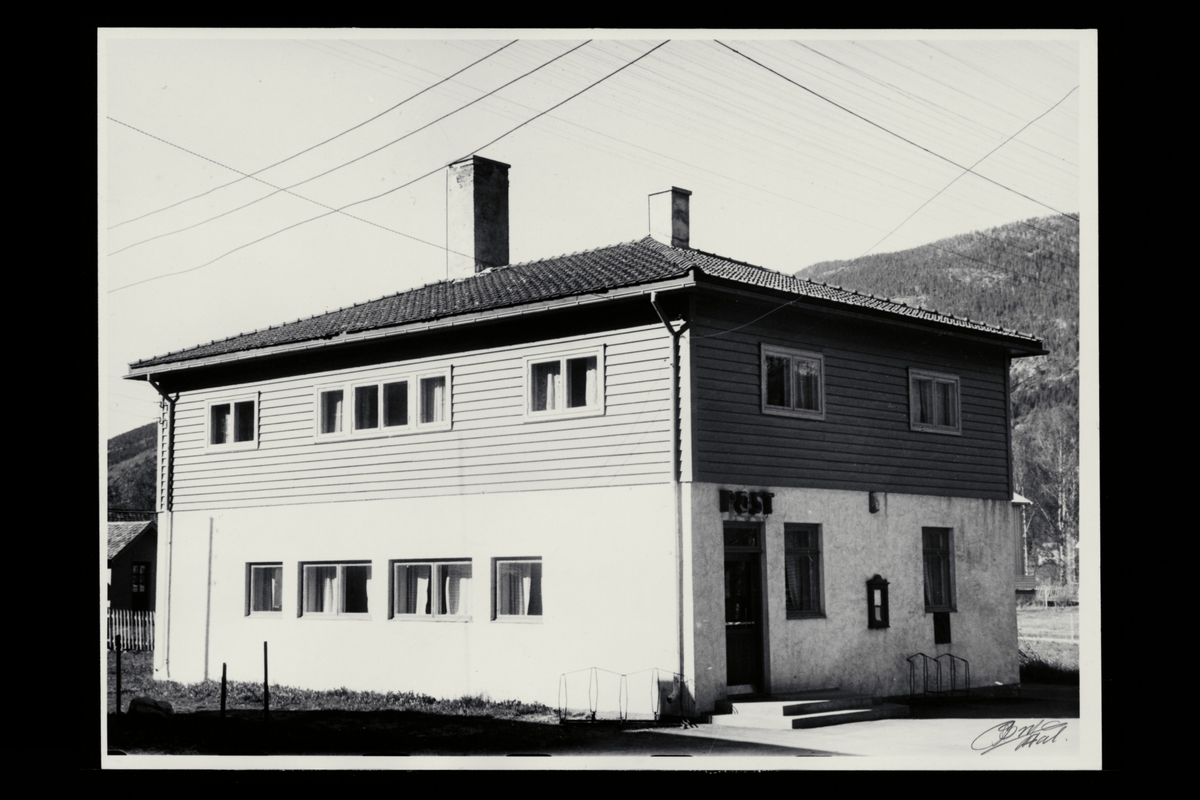 eksteriør, postkontor, 3540 Nesbyen
