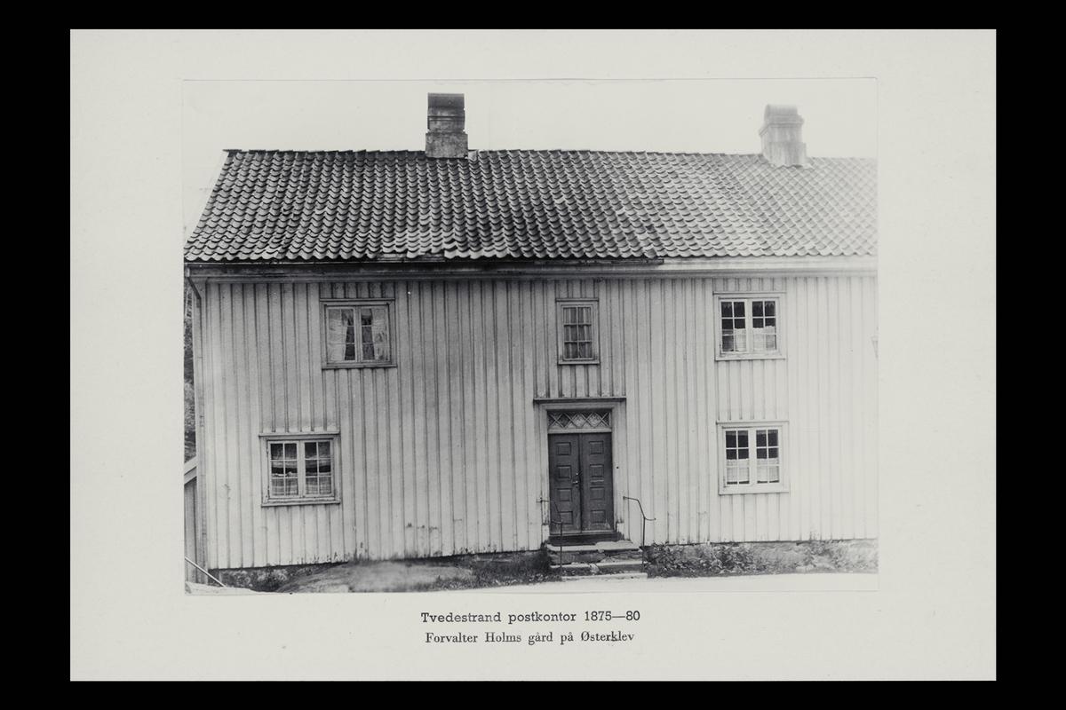 eksteriør, postkontor, 4900 Tvedestrand