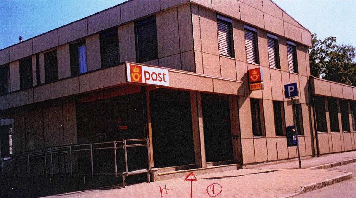 eksteriør, postkontor, 7600 Levanger, postskilt