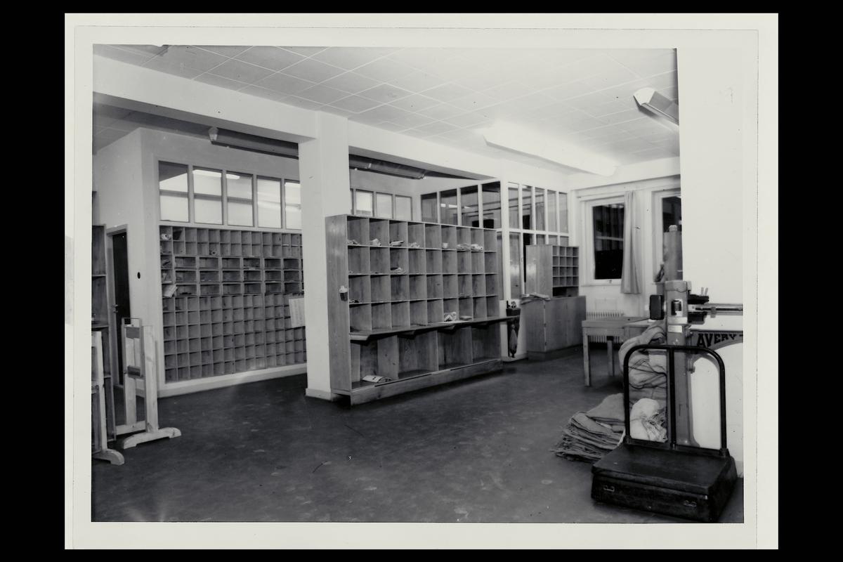 interiør, postkontor, 6500 Kristiansund N, sortering, vekt