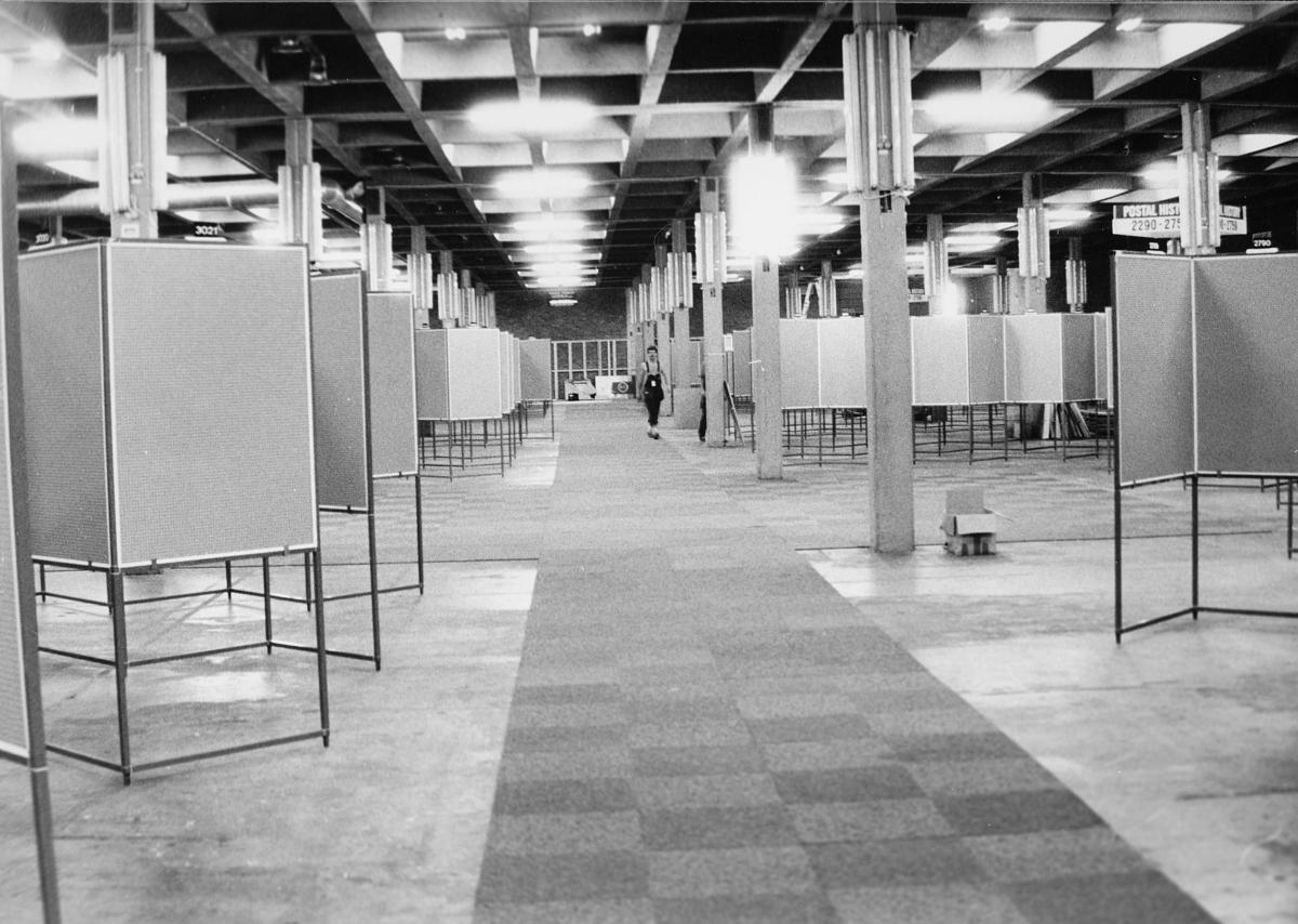 utstilling, Norwex 80, oppbyggningen