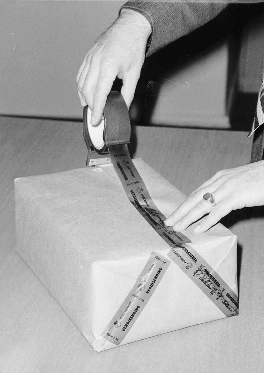 postbehandling, skadde sendinger