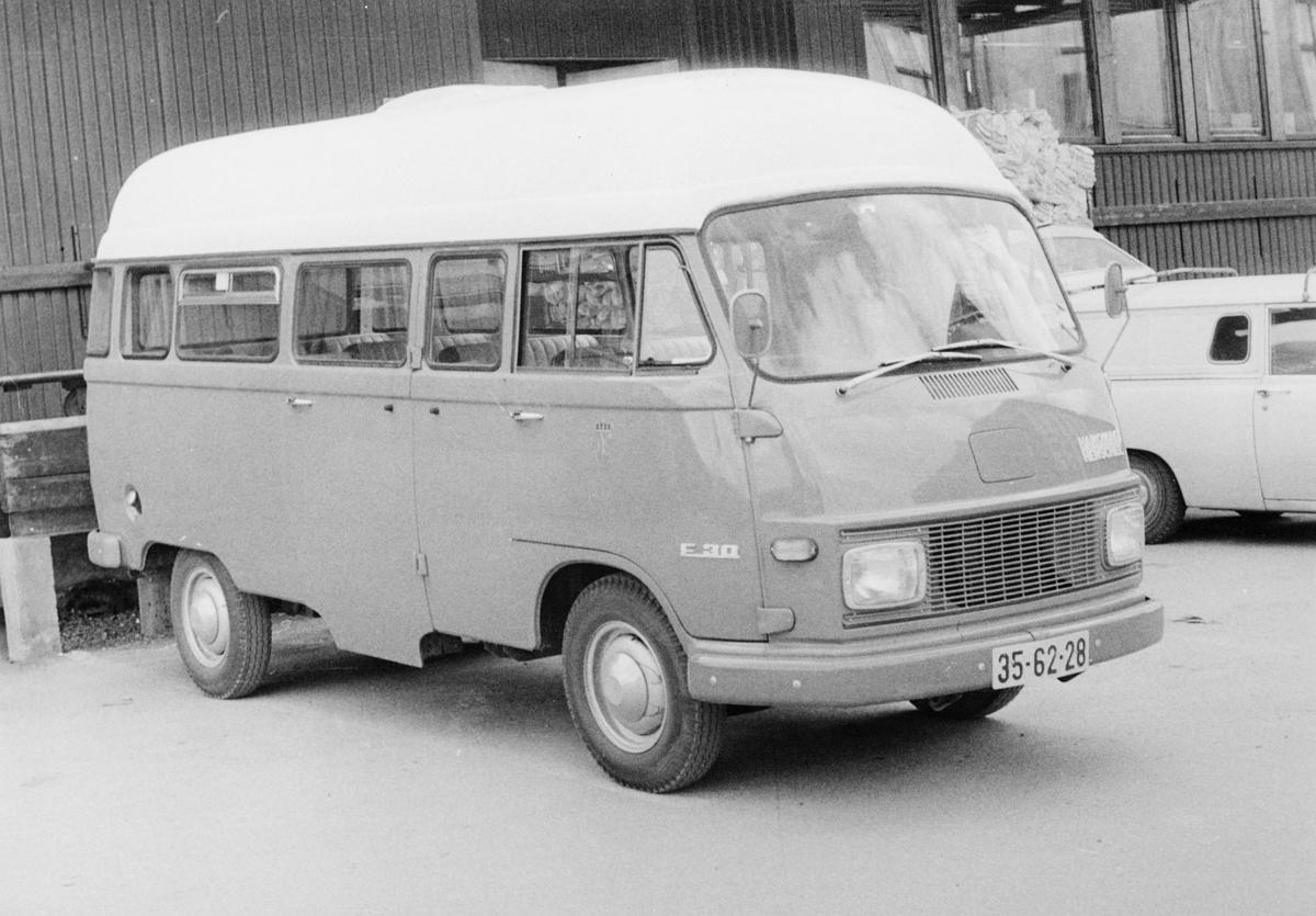 transport, bil, Hanomag varebil