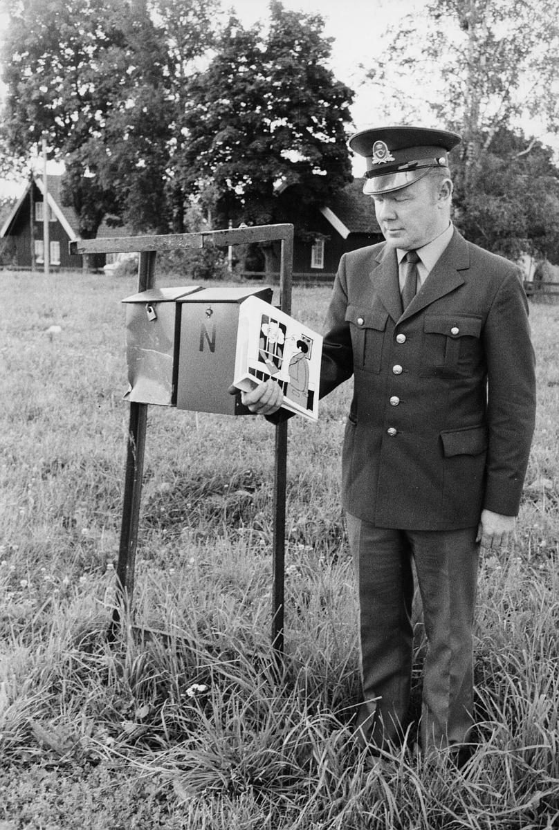 omdeling, postbud, postkasser