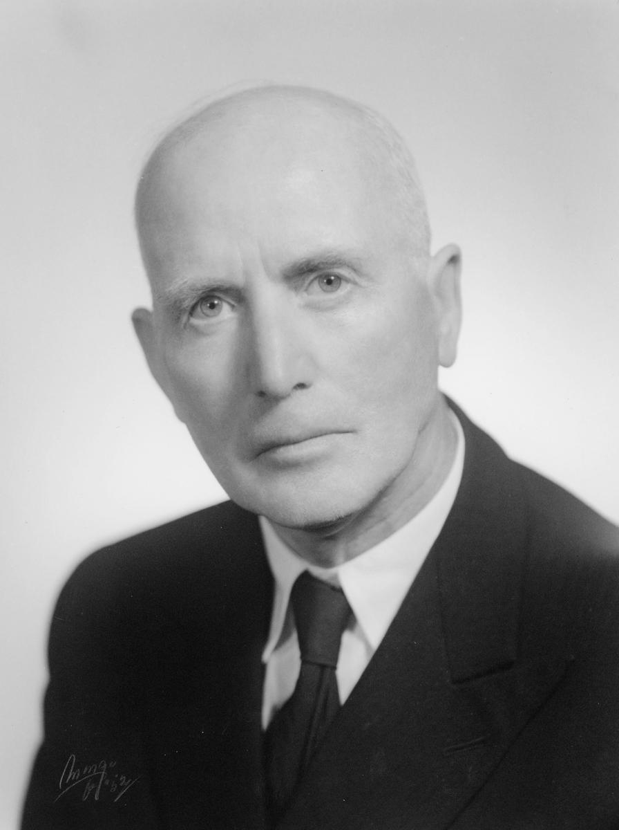 portrett, postmester, Johan Høidahl
