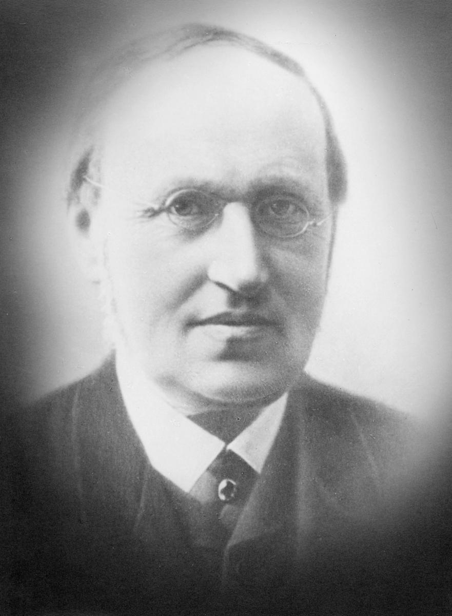 portrett, ekspedisjonssekretær, Carl Lauritz Mechelborg Oppen