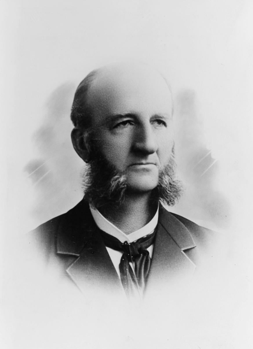 postmester, Weydahl Andreas Emil Johansen, portrett