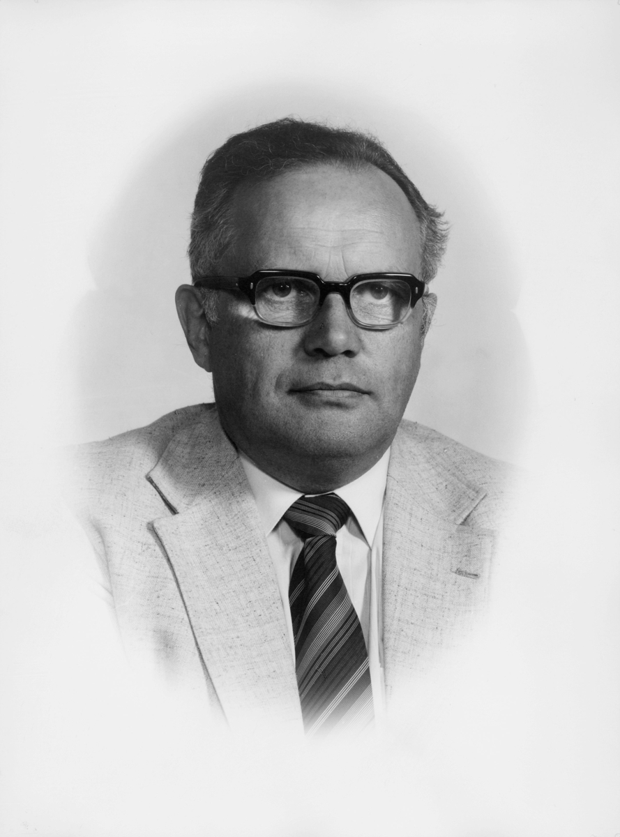 postsjef, Jensen Ole Fredrik Holm, portrett