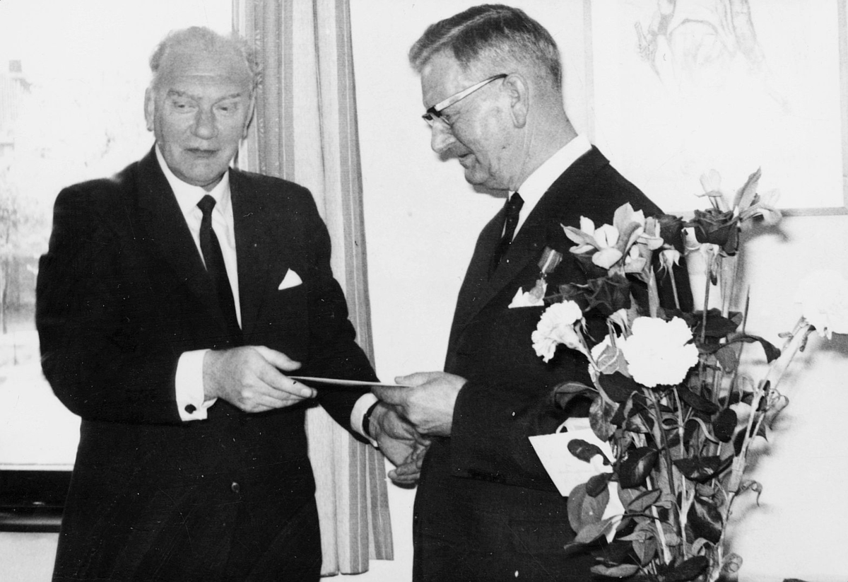 person, I. Nordstrand, Thv. B. Olsen, interiør