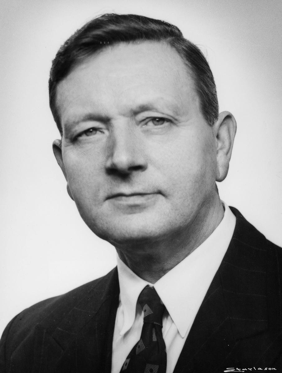 portrett, mann, Thorvald Birger Olsen