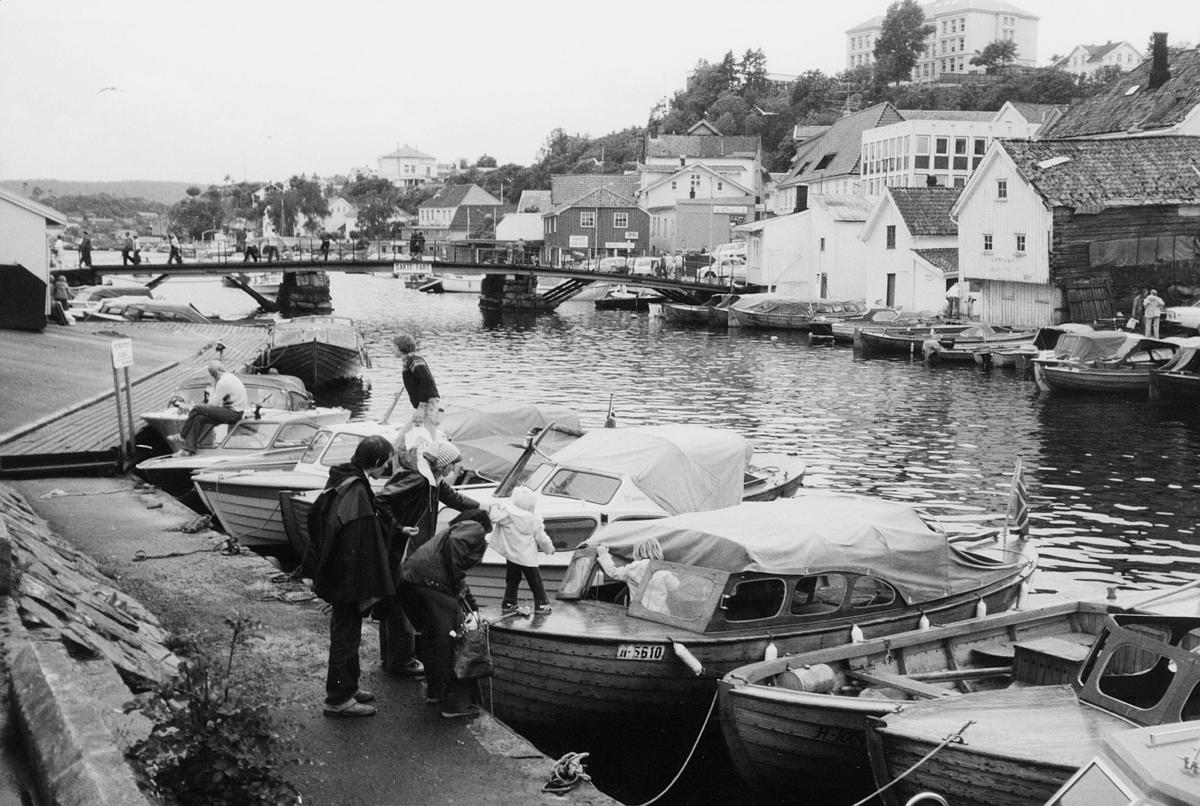 norgesbilder, Kragerø, brygge, båter