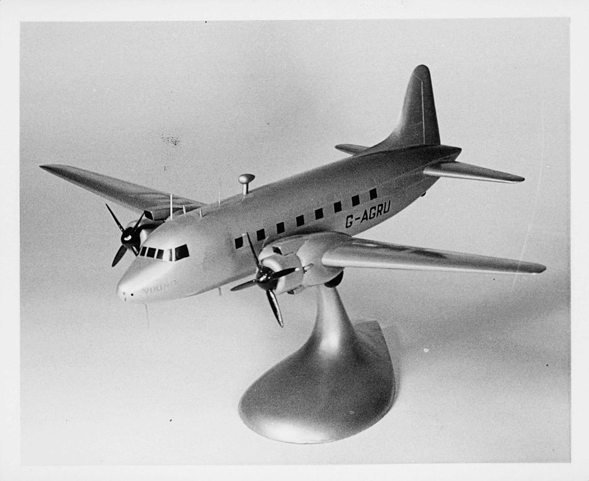postmuseet, flymodell, Viking G-Agru