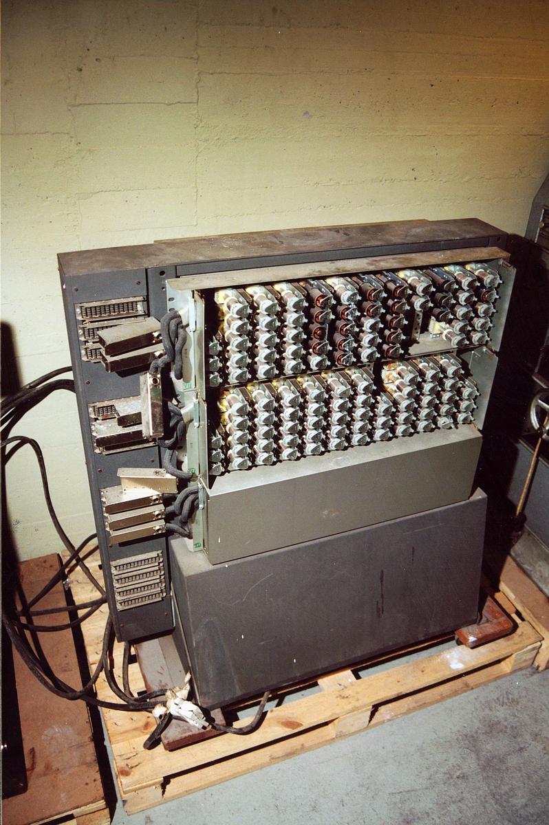 postsparebanken, postbanken, Biskop Gunnerus g. 14, maskiner, regnskapsmaskin, Power Samas, Powers accounting machine No 9/5766 0013, tilbehør