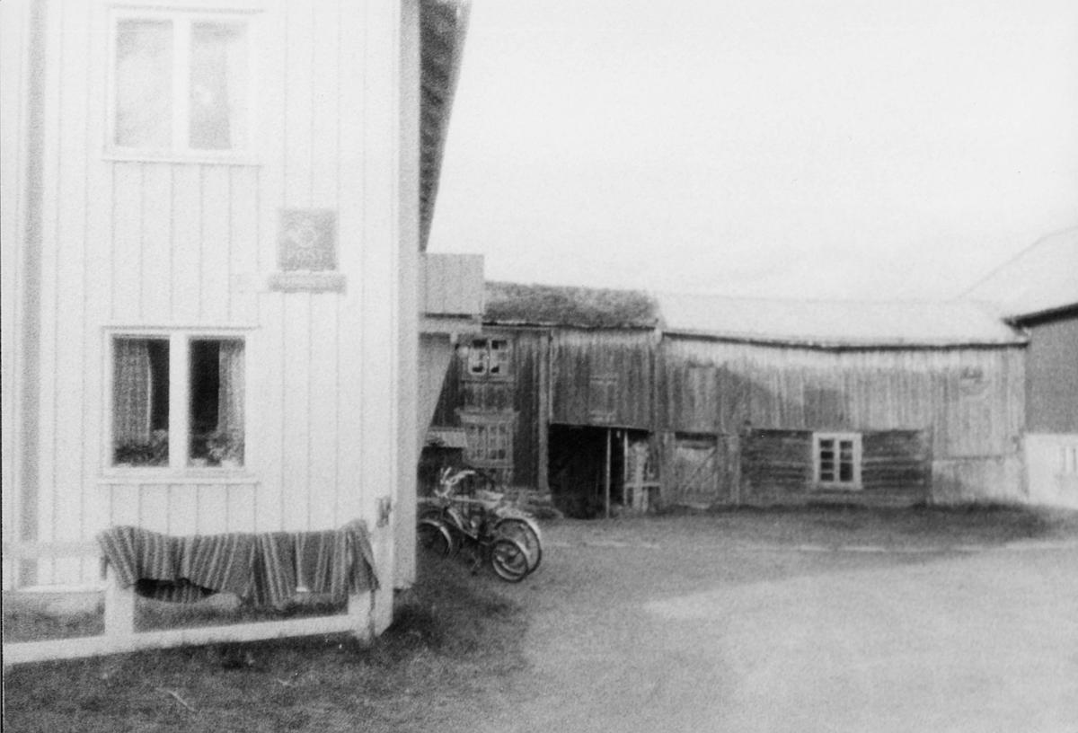 markedsseksjonen, Johan Falkberget 100-års jubileum, postkontor, 7460 Røros, skilt, gammel bygning