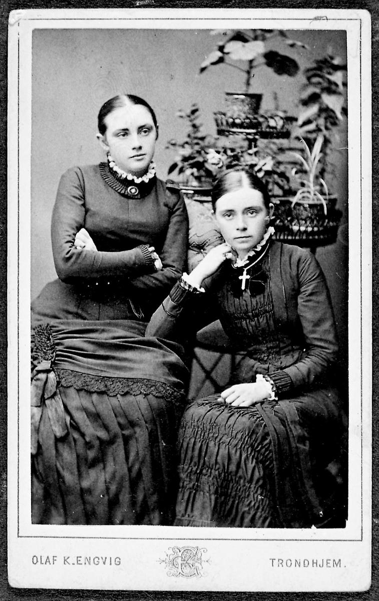 To kvinner, søstre
