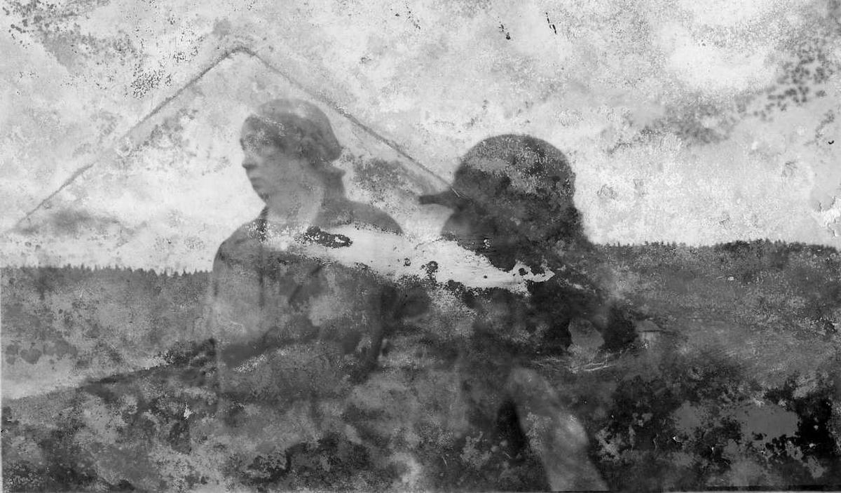 To kvinner, fjelltur