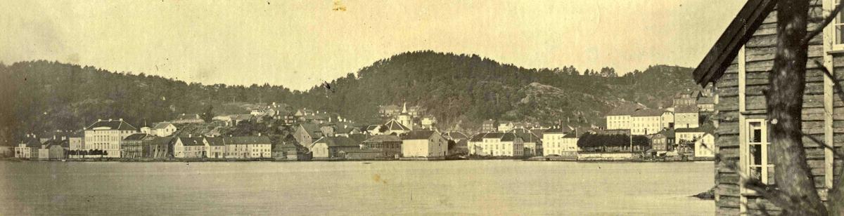 Stedsbilder Arendal Arendal panorama - 1862  Aaks 44 - 4 - 7 Bilde nummer 60
