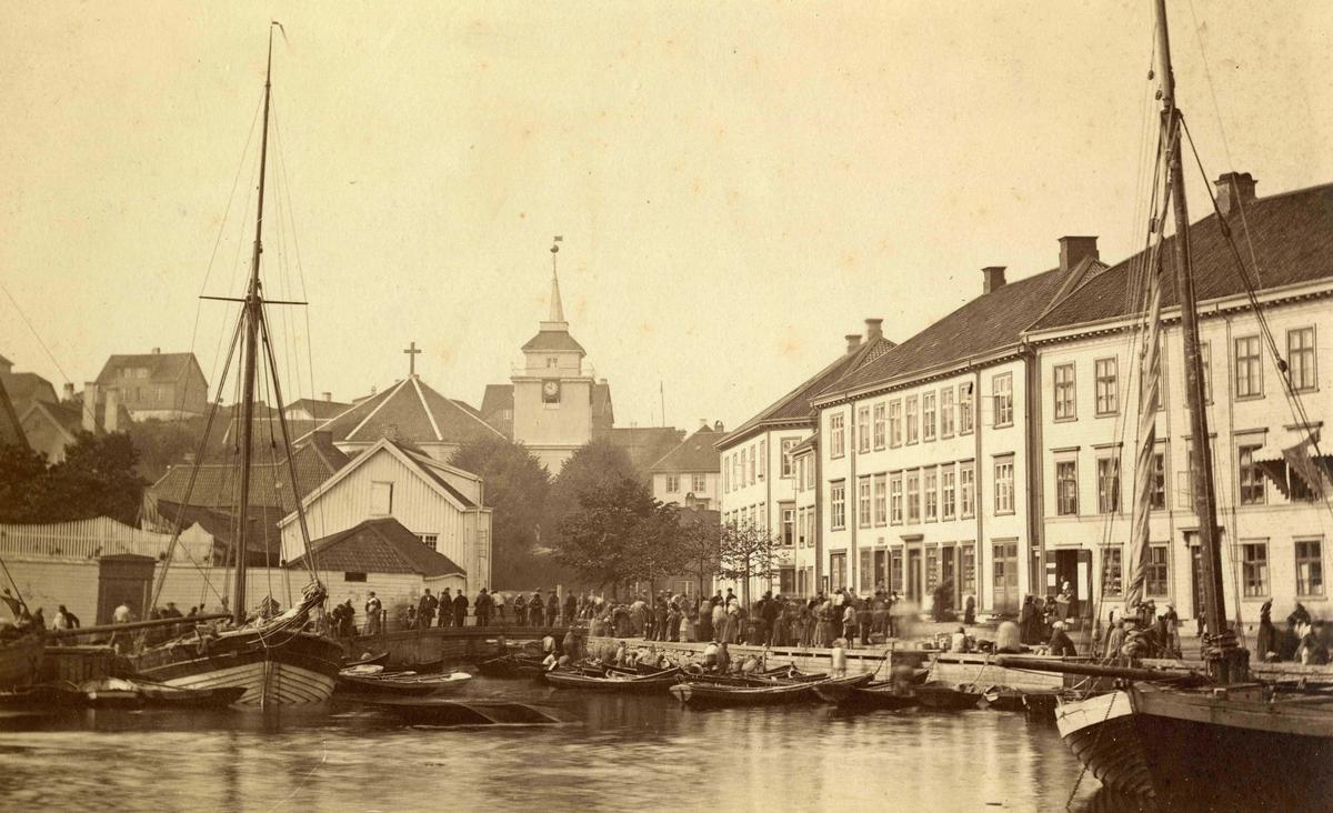 Arendal - Langbryggen - Kirkegaten