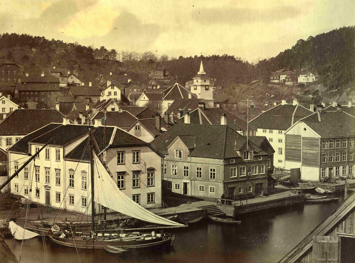 Arendal - Tyholmen og Tolboden