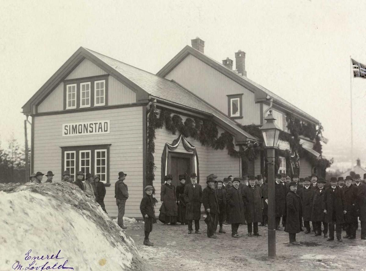 Åmlibilder Løvfold, Simonstad