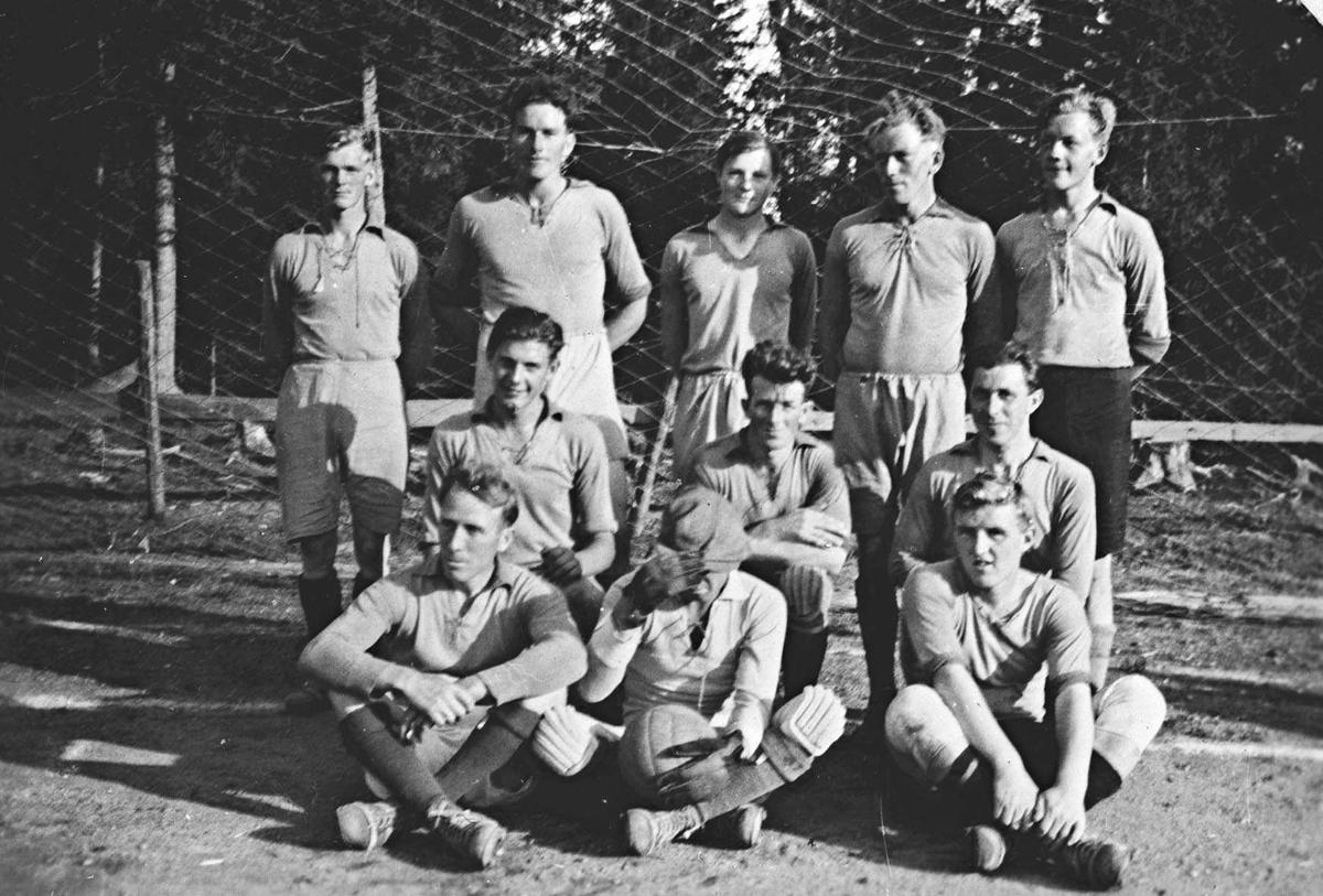 Kråkstad B-lag. Follomestere i 1935 i C-klassen