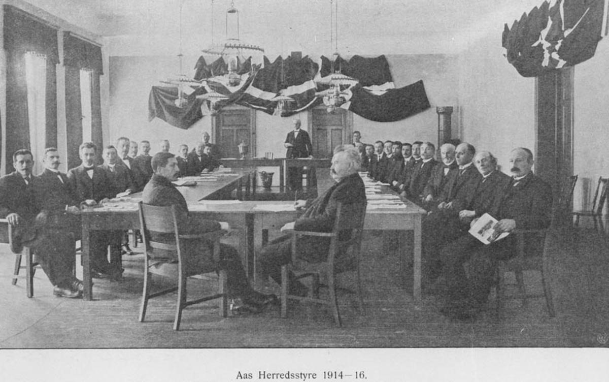 Herredstyret 1914