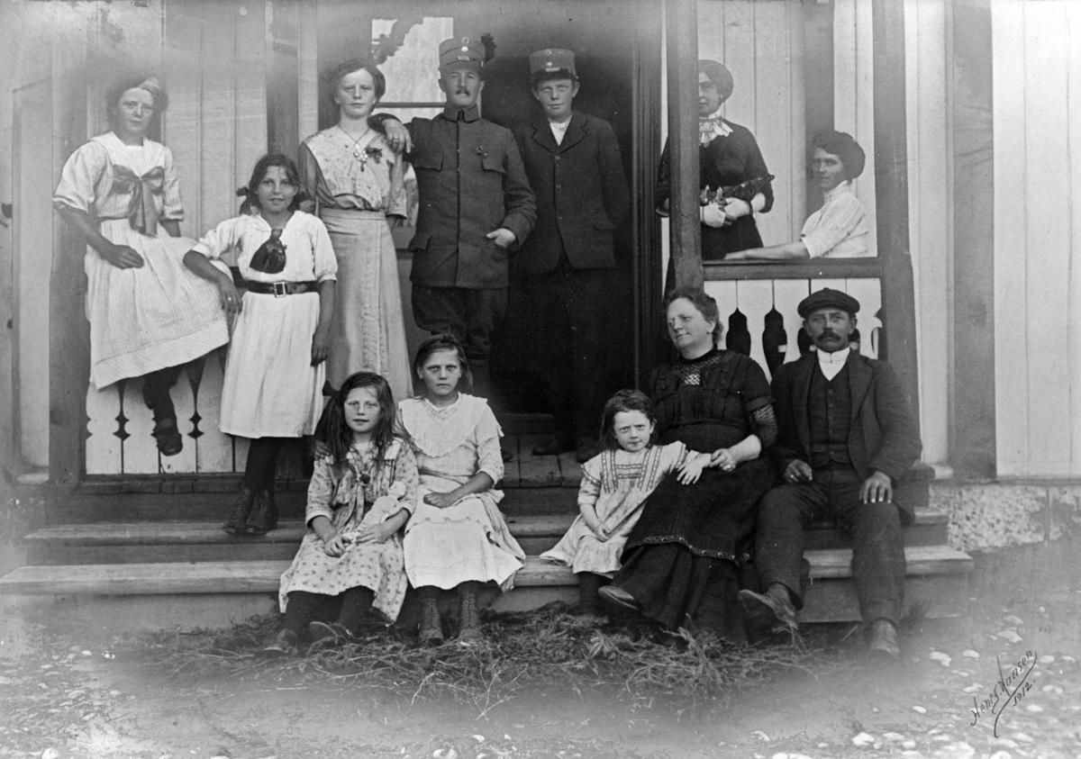 Familien O. Ljøgodt, Brudalen.