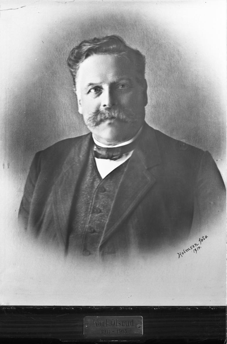 Ordfører? Karl Olsrud 1911-1913.