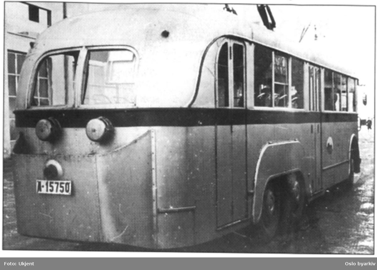 A-15750, Oslo Sporveiers buss