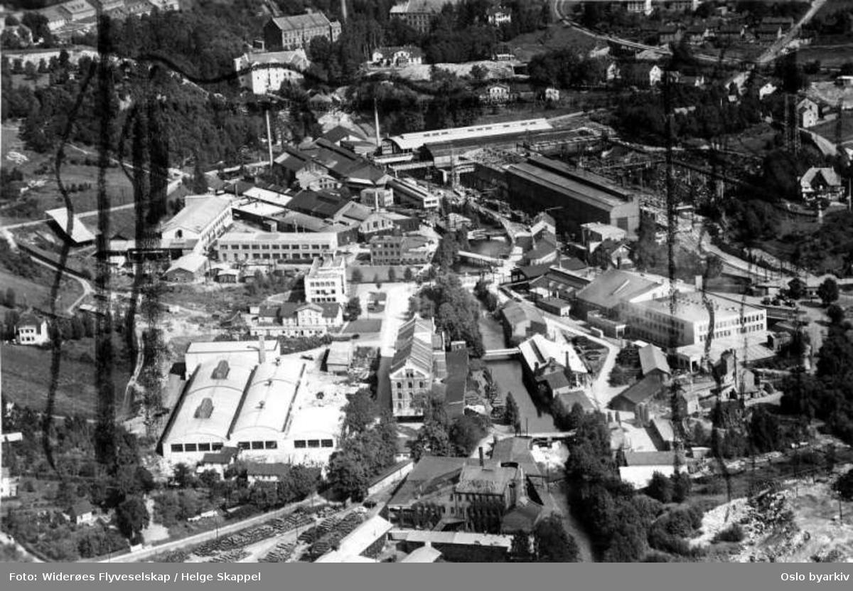 Christiania Spigerverk, industri (Flyfoto)