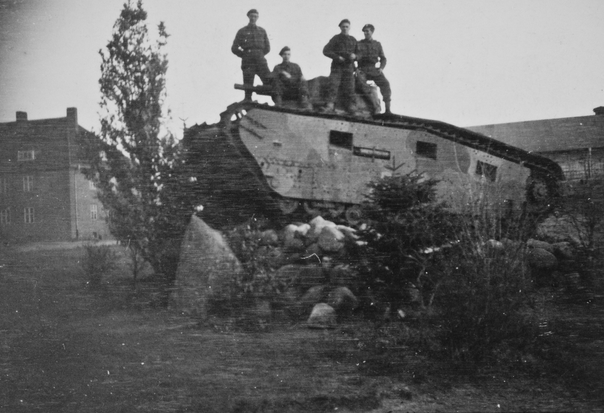 Tysk panservogn i Putlos.
