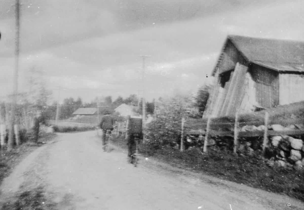 Låve i Fagerlundvegen, Brumunddal. Båhusbakken.