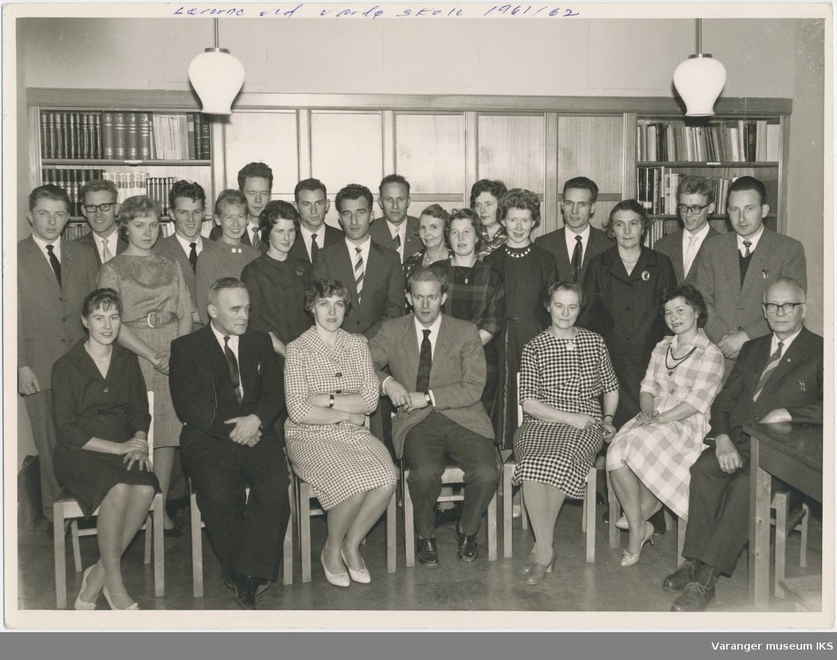 Lærere ved Vardø barneskole og realskole, skoleåret 1961/1962