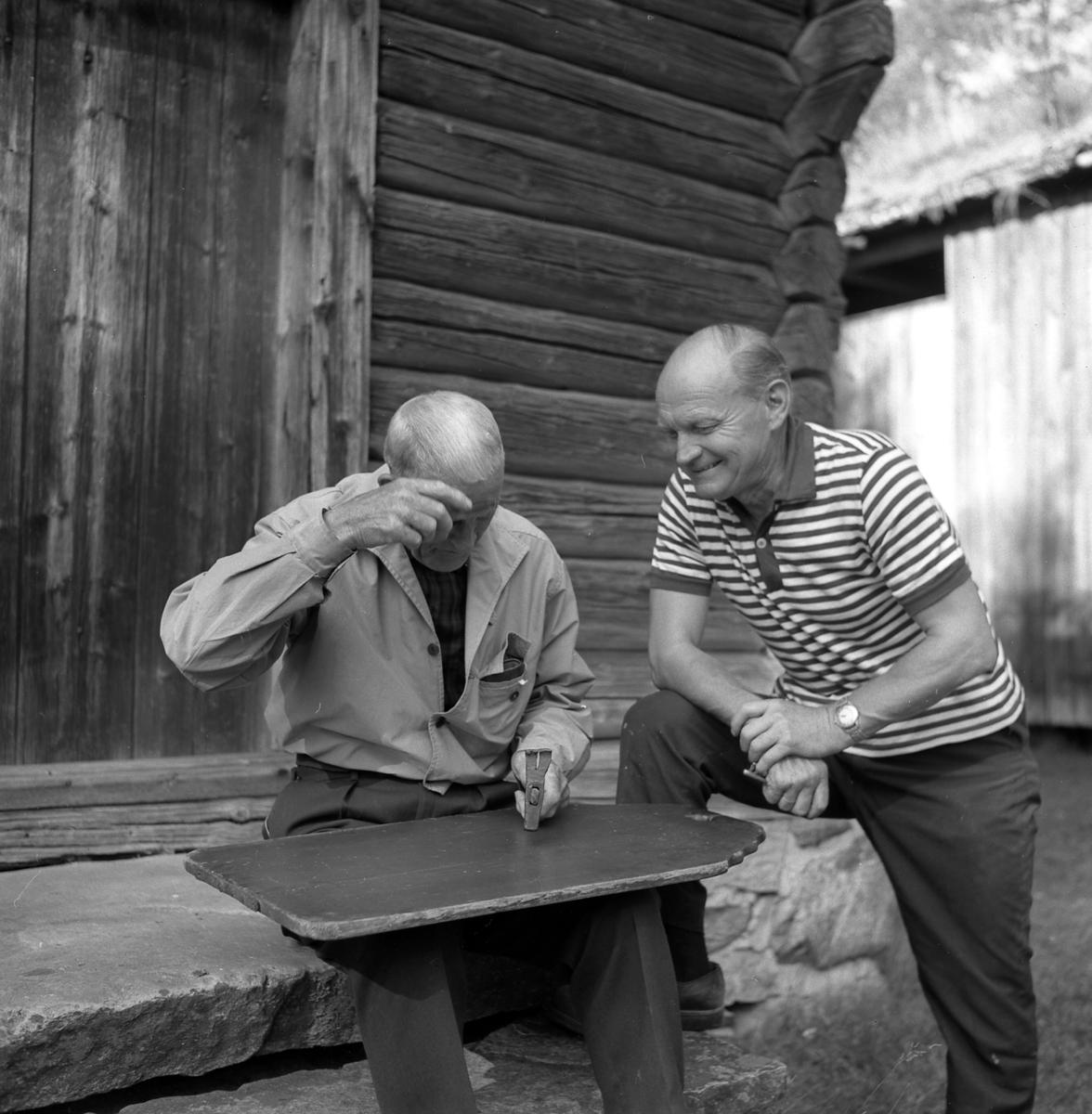 Karl Myrvold og August Høversdalen