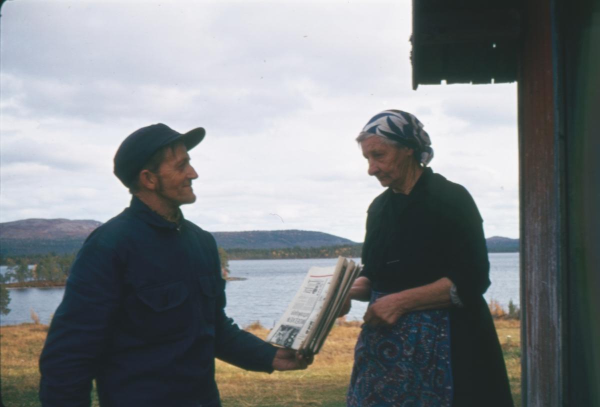 Anna Widén(Anna i Ødemarka) på Haugsetvollen