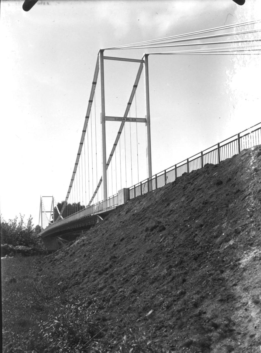 Bygging av Nybrua, 1935-36