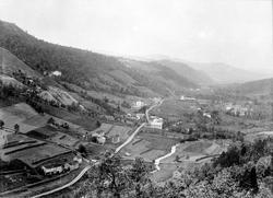 Løkken Verk i 1907 før utbyggingen i Orklaperioden.