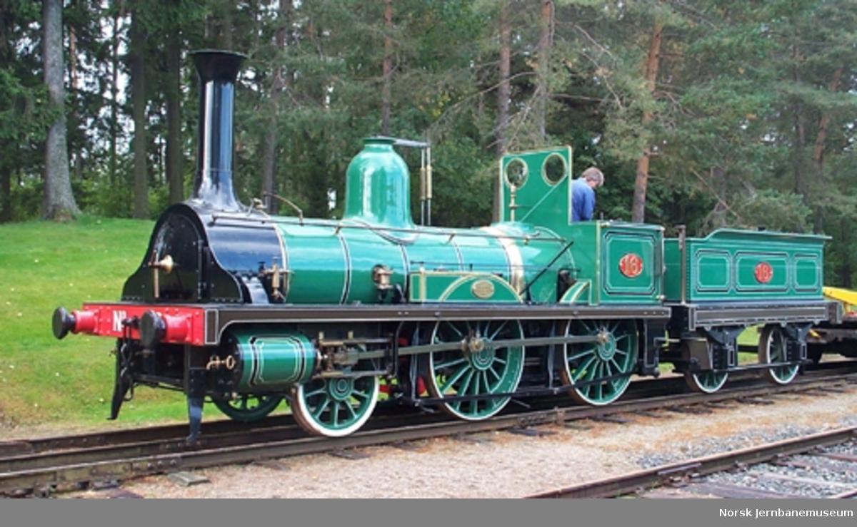 Damplokomotiv NSB type 2 nr. 16