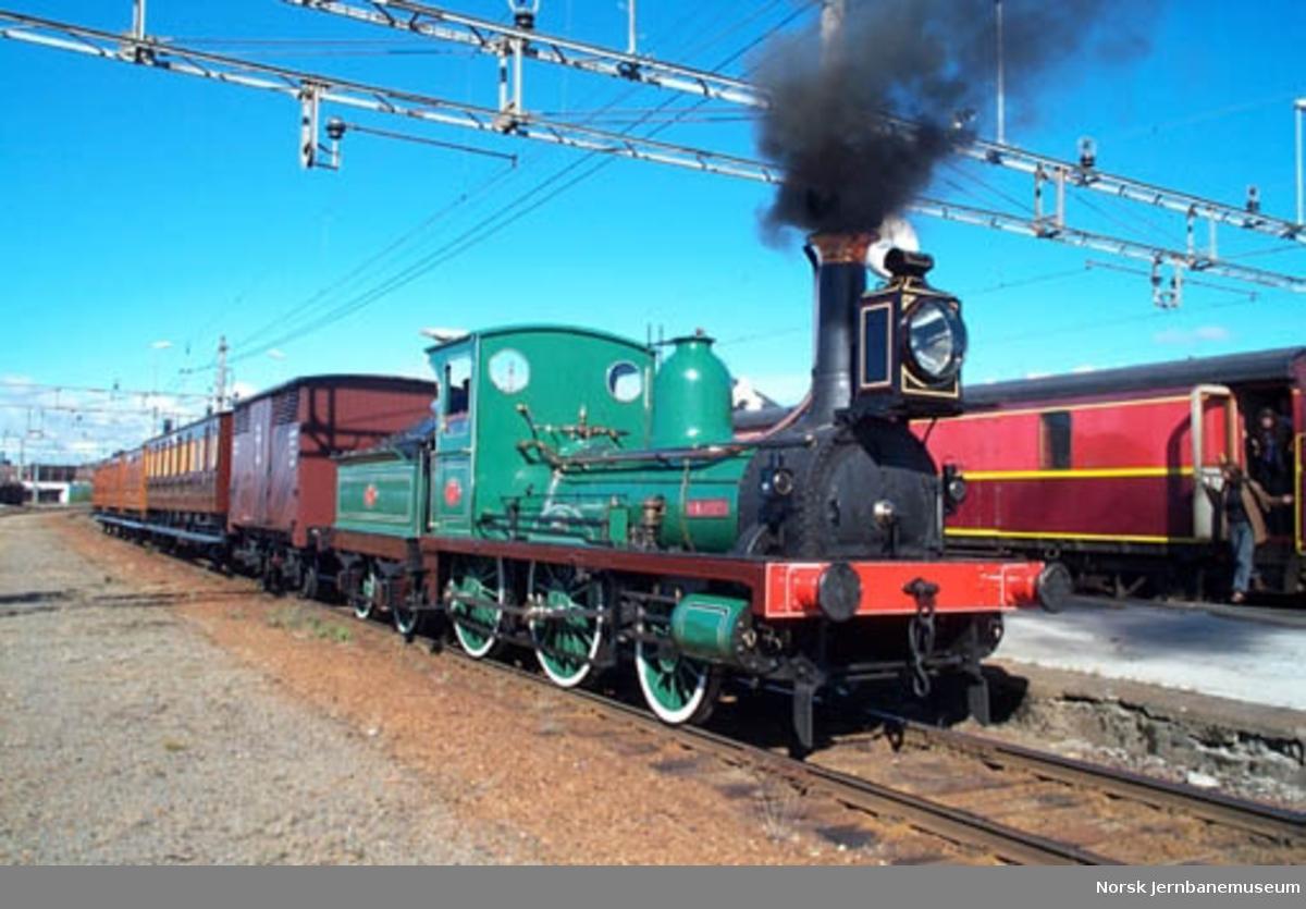 Damplokomotiv NSB type 2 nr. 17